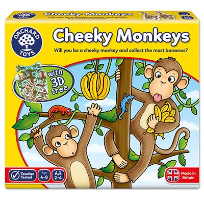 Cheeky Monkeys Game - Orchard Toys (£10.99)
