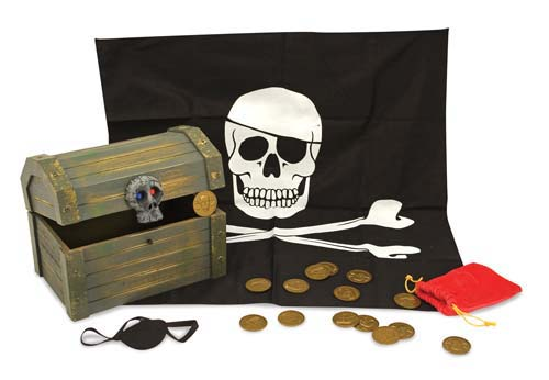 Image 2 of Pirate Chest - Melissa and Doug (£19.99)
