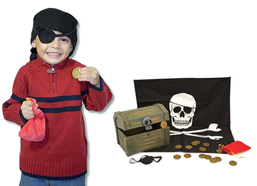 Image 3 of Pirate Chest - Melissa and Doug (£19.99)