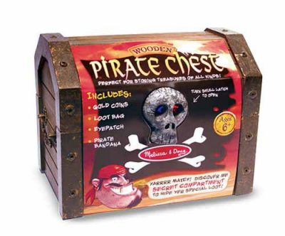 Pirate Chest - Melissa and Doug (£19.99)