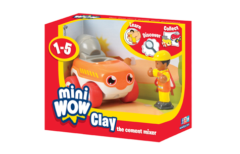 Clay The Cement Mixer - Mini Wow (£6.99)