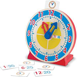 Turn and Tell Clock - Melissa and Doug (£14.99)