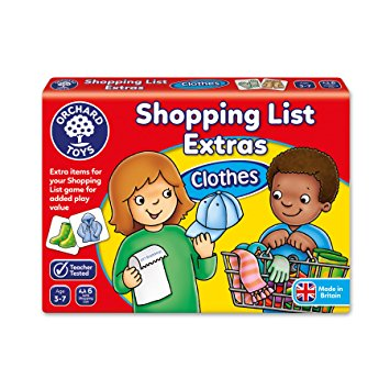 Shopping List Extras Clothes Orchard Toys (£5.99)