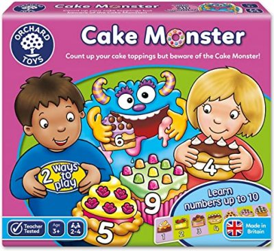 Cake Monster - Orchard Toys (£10.99)
