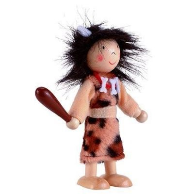 Image 2 of Fiesta Crafts Cavewoman Play Figure was £4.99 now £1.99 (£1.99)