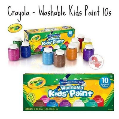 Crayola Washable Paint 10 pack (£8.99)