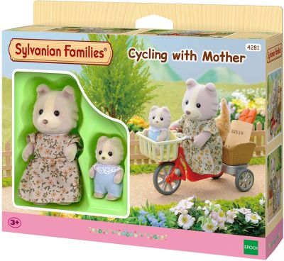 Cycling With Mother - Sylvanian Families (£14.99)