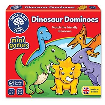 Dinosaur Dominoes Mini Orchard Game (£4.99)