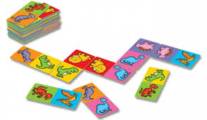 Image 2 of Dinosaur Dominoes Mini Orchard Game  (£4.99)