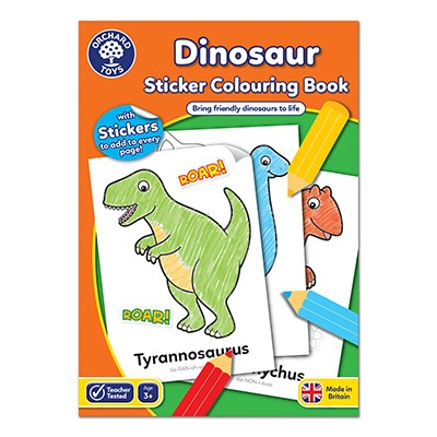 Dinosaur Colouring Book Orchard Toys (£3.99)