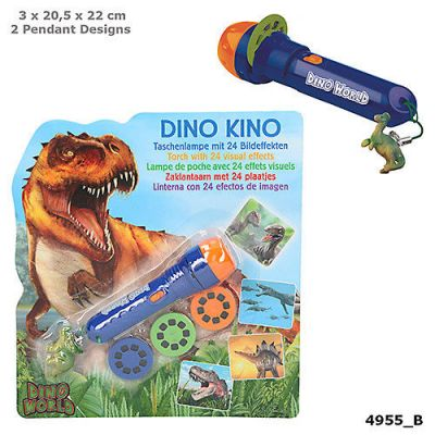 Dino Torch With 24 Visual Effects - Depesche (£5.50)
