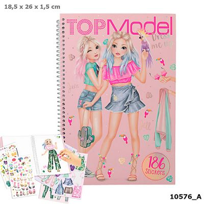 Top Model Dress Me Up Tropical Book (£7.99)