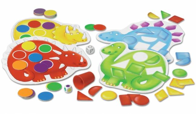 Image 2 of Dotty Dinosaurs Orchard Toys Game (£10.99)