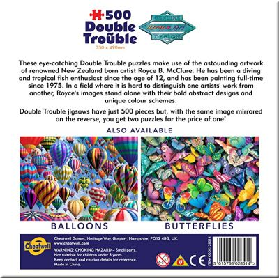 Image 3 of Double Trouble Fish Jigsaw Puzzle 500 pieces  (£9.99)