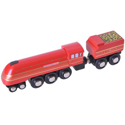 Image 2 of Heritage Collection Duchess of Hamilton - Bigjigs Rail  (£13.99)