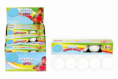 Table Tennis Balls 5 pack (£1.75)