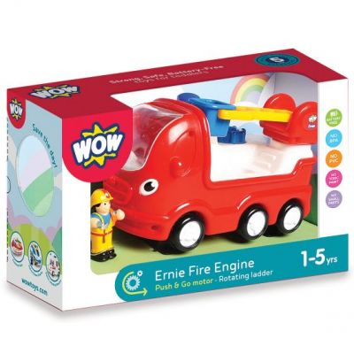 Image 1 of Ernie Fire Engine - Wow (£21.99)
