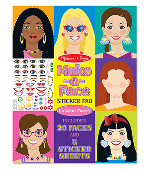 Make-A-Face Sticker Pad - Melissa and Doug (£5.75)