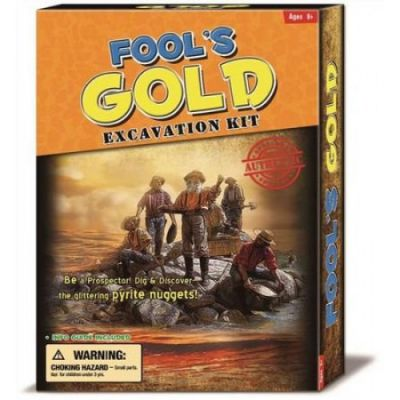 Fool's Gold Excavation Kit (£8.99)