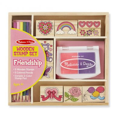 Friendship Stamp Set - Melissa and Doug (£12.99)