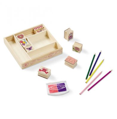 Image 2 of Friendship Stamp Set - Melissa and Doug  (£12.99)