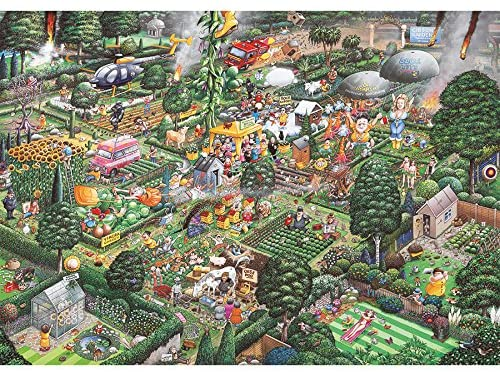 I Love Gardening 1000 Piece Jigsaw Puzzle Gibsons (£16.99)