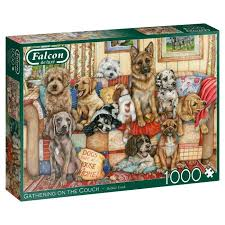Gathering On The Couch 1000 Pieces Jigsaw Puzzle (£12.99)