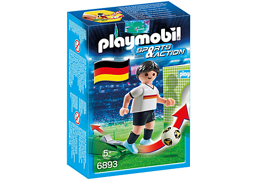 Playmobil Soccer Player Germany - 6893 (£4.99)