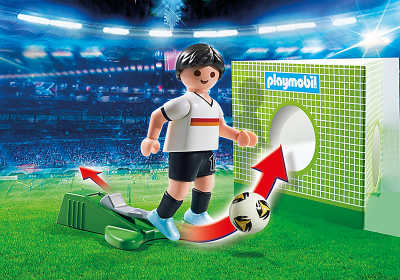 Image 2 of Playmobil Soccer Player Germany - 6893  (£4.99)