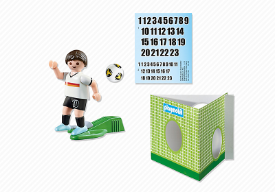 Image 4 of Playmobil Soccer Player Germany - 6893  (£4.99)