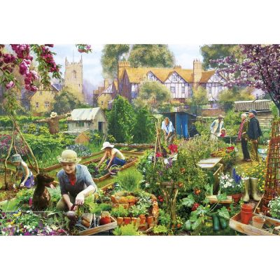Green Fingers 500 Piece Gibsons Jigsaw Puzzle (£12.99)