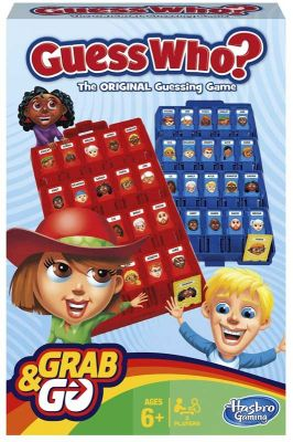 Guess Who Grab & Go Game (£8.99)