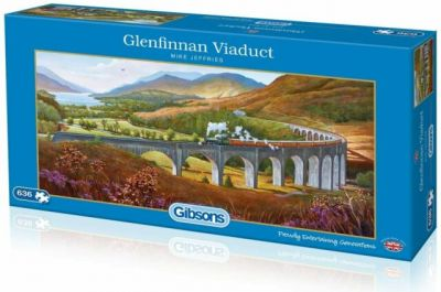 Image 1 of Glenfinnan Viaduct Gibsons 636 Piece Jigsaw Puzzle  (£13.99)