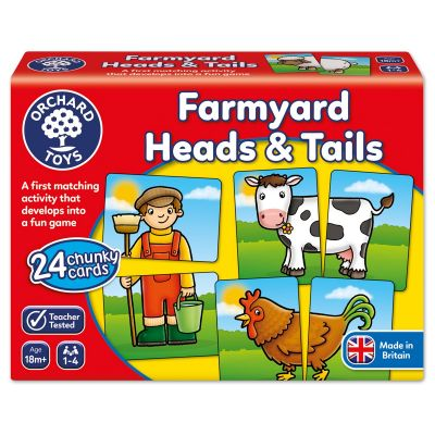 Farmyard Heads and Tails (£8.99)
