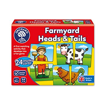 Farmyard Heads and Tails Orchard Toys (£8.99)
