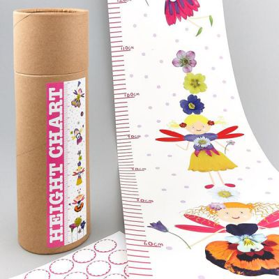Fairy Height Chart With Stickers - Floss and Rock (£7.99)