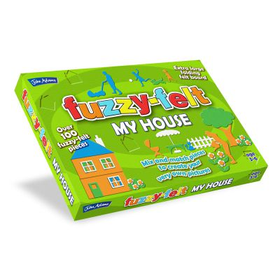 Fuzzy Felt House - John Adams (£10.99)