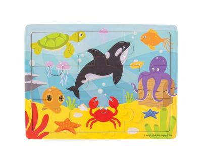 Underwater Tray Puzzle  - Bigjigs Toys (£7.99)