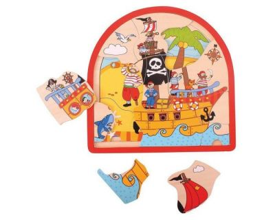 Pirate Arched Puzzle - Bigjigs (£10.99)