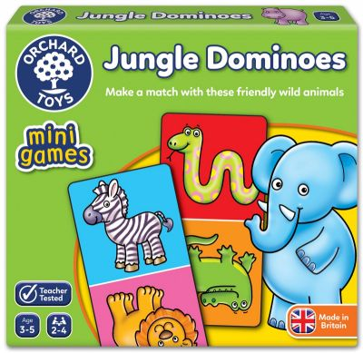 Image 1 of Jungle Dominoes mini Orchard Game  (£4.99)