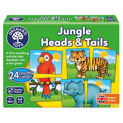 Jungle Heads and Tails (£8.99)