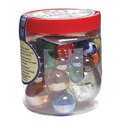 50 Of The World's Best Marbles (£7.99)
