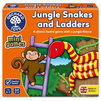 Jungle Snakes and Ladders - Orchard Mini Game (£4.99)