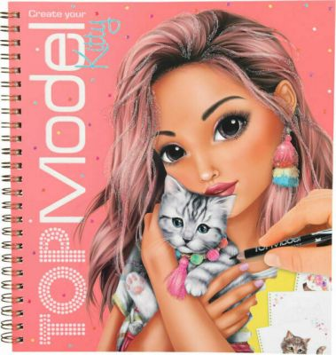 Top Model Kitty Design Book - Depesche (£7.99)