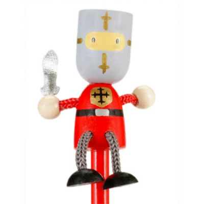 Red Knight Top Knob Pencil (£1.99)