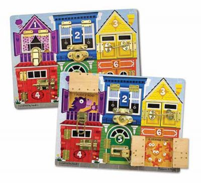 Latches Board - Melissa and Doug (£19.99)