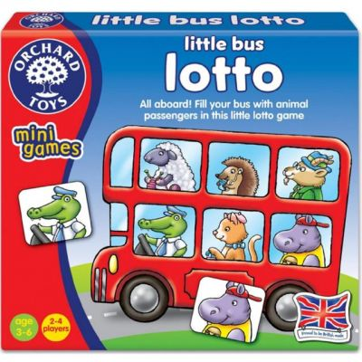 Little Bus Lotto - Orchard Toys (£4.99)