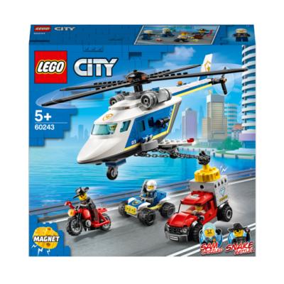 LEGO City Police Helicopter Chase - 60243 (£24.99)