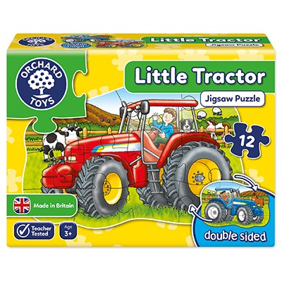 Little Tractor Jigsaw Puzzle (£7.99)