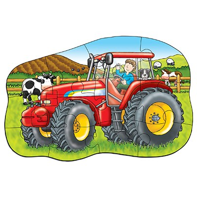 Image 2 of Little Tractor Jigsaw Puzzle  (£7.99)